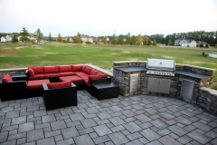 After- Grill and sitting area
